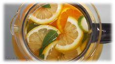 Mango-Eistee mit Orangen und Zitronen | Chris-Ta´s Blog #Rezept #eistee #orangen #zitronen