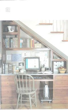 Desk Under Stairs desk under stairs - google search | studio apartment | pinterest