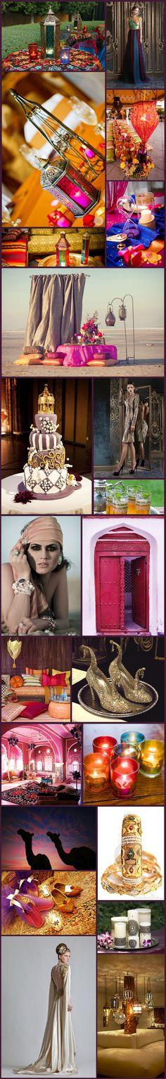 Wednesday Wedding Inspiration: Arabian Nights