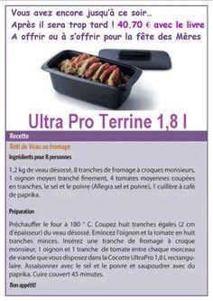 Tupperware - Ultra Pro Terrine 1,8L