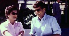 Jackie and Jack on their honeymoon in Acapulco, September 1953.