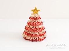 Árbol de navidad con cintas 14