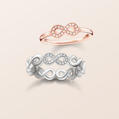 Forever together and thogether forever. The infinity symbol is the perfect love token for the one you love.