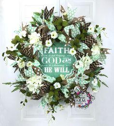 Deco Mesh Easter Wreath Burlap Wreath by SouthernCharmWreaths Frame Wreath, Diy Wreath, Wreath Burlap, Wreath Ideas, Wreath Making, Wreath Crafts, Easter Wreaths, Christmas Wreaths, Spring Front Door Wreaths
