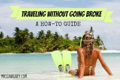 Love traveling? Traveling isn't cheap, but there are ways to save money on it. Here are some of my best tips for traveling without going broke!