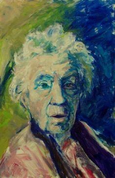 Berendien Dijkstra - Verboom - oude vrouw