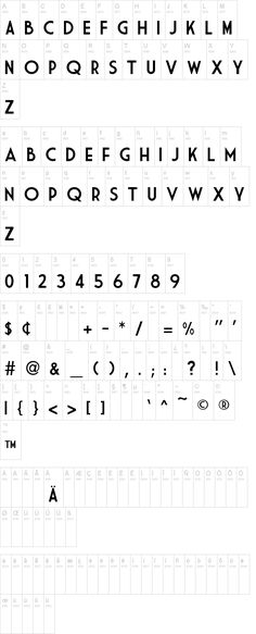 free font MARKET DECO (amazing for DIY graphic text images: use the filter 'find outline' in Photoshop and then fill with pattern)
