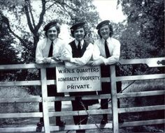 The Wrens who worked at Bletchley park were billetted at many locations in the vicinity, including Woburn Abbey.