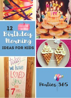 Want to surprise and delight your little one on their birthday morning? We have 12 Birthday Morning Birthday Surprises your kids are sure to love! breakfast 12 Birthday Morning Ideas for Kids Kids Birthday Breakfast, Birthday Morning Surprise, Happy 12th Birthday, Breakfast For Kids, Birthday Fun, Husband Birthday, Morning Breakfast, Birthday Ideas, Breakfast Ideas