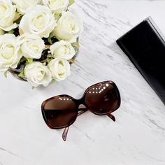 HOST PICKAuthentic Fendi Brown 59mm Sunglasses Really cute, oversized, 100% Fendi Sunglasses features a vibrant design with solid lenses, an integrated nose piece & logo temples  worn // in good condition // has minor scratches on the lenses // comes with its original case //  case has scratches & shows signs of wear  - Frame: Brown/ plastic - Lens: Brown Gradient. - Arm: 135 mm - 6.75 inches from temple to temple  Please note:  ❁ I only sell on poshmark!  ❁ I do not trade, selling only! :)…