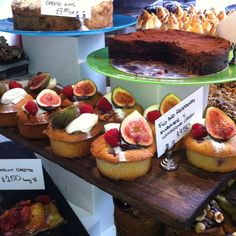 Fig cake..... mmmm by Ottolenghi. World Food Festival likes this, a lot!