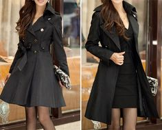 $47 for a Tie Up Coat - Five Colours Available