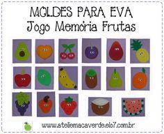 Resultado de imagem para jogos de memoria de frutas