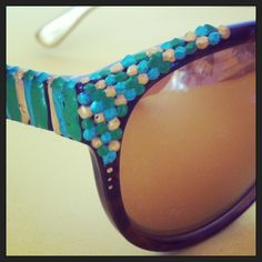 Hand painted sunglasses.  Malibu Suns™ - You are the Sunshine!   malibusuns.com