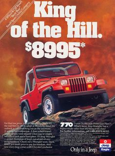 Throwback Thursdays: 1989 Jeep Wrangler
