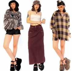 Fashion Poses, Fashion Outfits, Womens Fashion, 90s Inspired Outfits, Tumbrl Girls, Fashion Catalogue, 2000s Fashion, Character Outfits, Looks Cool