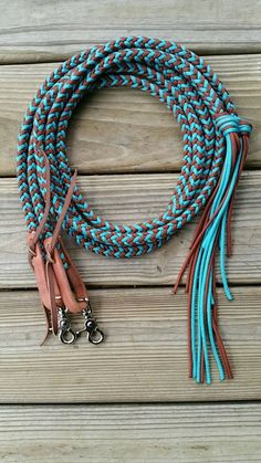 Split Riding Reins by KnotsByK on Etsy Order an oil painting of your pet now at www.petsinportrait.com horse tack