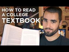 How to Read Your Textbooks More Efficiently - College Info Geek - YouTube