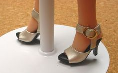 Doll Shoes MA Alex 42mm METALLIC SILVER Easy to Wear for Sybarite