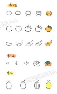 如何画各种水果6,来自@基质的菊长大人