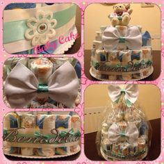 #tiffanydiaperscake!! Tiffany diapers cake!!!