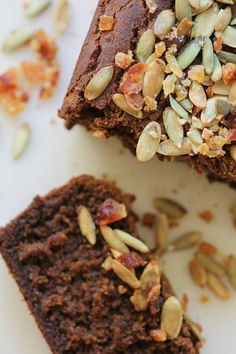A gluten-free and vegan alternative pumpkin loaf. This loaf is made with Teff flour which gives the loaf a nice nutty taste that pairs well with pumpkin and ginger. Gluten Free Pumpkin, Healthy Pumpkin, Pumpkin Recipes, Fall Recipes, Vegan Pumpkin, Gluten Free Sweets, Gluten Free Baking, Gluten Free Recipes, Pumpkin Loaf