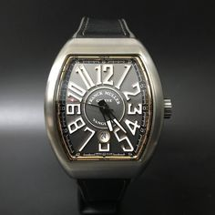 Franck Muller Vanguard Titanium Rose Gold. #watchmania #wristwatch #watchoftheday #timepiece #secondhand #instawatch #secondoriginalwatch #jamtanganseken #preownedwatch #luxurywatch #watchaholic #indonesiawatchexchange http://ift.tt/2vPcVvX