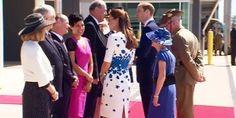 William & Kate at RAAF base in Brisbane. April 19, 2014