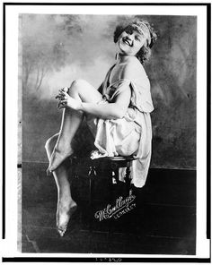 """""""Miss DuBois Ferguson, who has been judged physically perfect ... """" (LOC) between 1909 and 1925"""