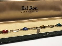 Vintage, 1950's, Bal-Ron, 12KT, Gold Filled, Women's, Scarab, Bracelet, w/ Case | Jewelry & Watches, Vintage & Antique Jewelry, Costume | eBay!