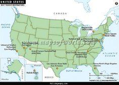 US Map Best Universities in USA Studies Pinterest Top