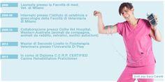 Dott.ssa Sara Caretti Fisioterapia e riabilitazione, Medicina d'urgenza Chirurgia dei tessuti molli http://www.clinicaveterinariacmv.it/staff_medici_veterinari.html