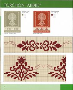 Cross Stitch Borders, Crochet Borders, Cross Stitch Samplers, Cross Stitch Designs, Cross Stitching, Cross Stitch Embroidery, Embroidery Patterns, Cross Stitch Patterns, Embroidery Monogram