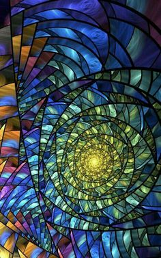Wish I knew the artist who made this gorgeous stained glass