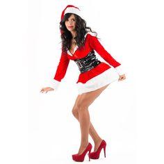 Disfraz de Mama Noel,  compralo en la web.