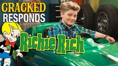 So Richie Rich is going to be a Netflix series. We watched the trailer for you. Richie Rich, Netflix Series, Trailers, Indie, Comics, Funny, Movie Posters, Hang Tags, Film Poster