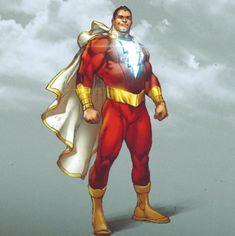 Shazam by Ivan Reis Marvel Dc Comics, Ms Marvel, Dc Comics Heroes, Dc Comics Characters, Dc Comics Art, Marvel Heroes, Captain Marvel Shazam, Shazam Comic, Univers Dc