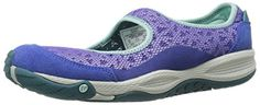Nice Merrell Women's All Out Bold Mary Jane, Blue Iris, 11 M US