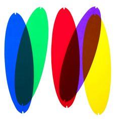 Filtri per Luceplan Titania ( già inclusi in confezione ) per colorate la sospensione senza variare la tonalità della luce.