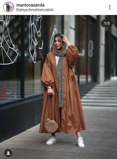 Hijab Fashion Summer, Modern Hijab Fashion, Abaya Fashion, Muslim Fashion, Suit Fashion, Fashion Outfits, Mode Kimono, Fashion Drawing Dresses, Mode Abaya