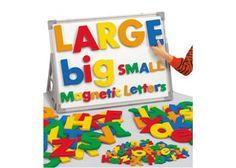 jumbo magnetic letters uc 26 x 125cm