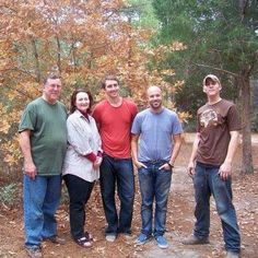 Lee Pace with his family and friends