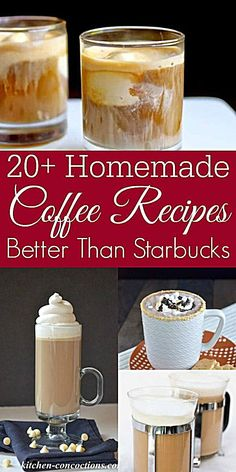 Homemade Coffee Drinks - Retro Housewife Goes Green - Love coffee? You need to try these homemade coffee recipes. They are delicious and dare I say it? Better than Starbucks! Everything from homemade pumpkin spice latte to homemade vanilla lattes. Homemade Pumpkin Spice Latte, Homemade Vanilla, Starbucks Pumpkin Spice Latte, Homemade Coffee Creamer, Coffee Creamer Recipe, Coffee Drink Recipes, Ninja Coffee Bar Recipes, Keurig Recipes, Cold Coffee Drinks