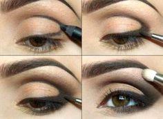 cool 50 Идей, как сделать макияж для глубоко посаженных глаз — Пошаговое фото Читай больше http://avrorra.com/makiyazh-dlya-gluboko-posazhennyx-glaz-foto/
