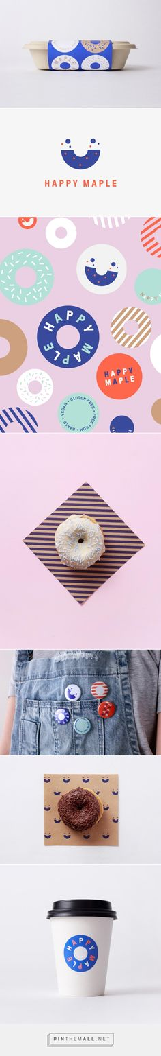 New Brand Identity for Happy Maple by Garbett — BP&O... - a grouped images picture - Pin Them All