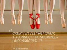 Creativity is the power to connect the seemingly unconnected.