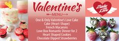Visit Dessert Lady who are proud to serve you Valentine,s cakes in Toronto that are made from scratch using traditional techniques and highest quality natural ingredients to make the most delicious Valentine cakes.