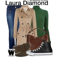 Inspired by Debra Messing as Laura Diamond on The Mysteries of Laura.