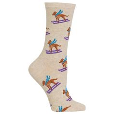 Women's Ski Dog Socks