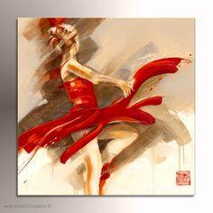 Schilderij Lost in Motion